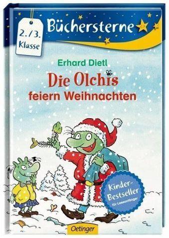 Gebundenes Buch »Die Olchis feiern Weihnachten«