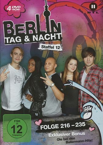 DVD »Berlin - Tag & Nacht - Staffel 12 (Folge...«