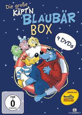 DVD »Käpt'n Blaubär Box (4 Discs)«