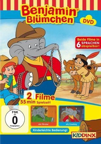 DVD »Benjamin Blümchen als Förster / als Cowboy«
