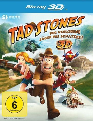 Blu-ray »Tad Stones - Der verlorene Jäger des Schatzes!...«