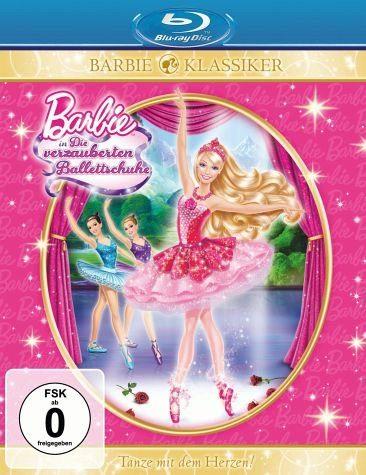 Blu-ray »Barbie in: Die verzauberten Ballettschuhe«