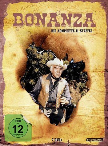 DVD »Bonanza - Die komplette 11. Staffel (7 Discs)«