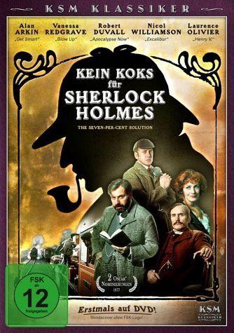 DVD »Kein Koks für Sherlock Holmes«
