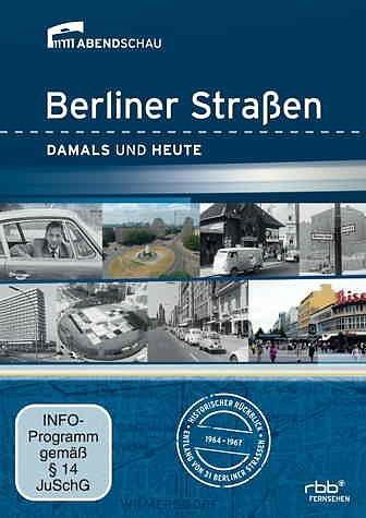 DVD »Berliner Straßen - Damals und Heute«