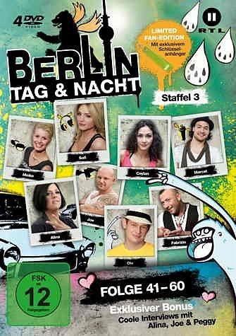DVD »Berlin -Tag & Nacht, Staffel 3, 4 DVDs«