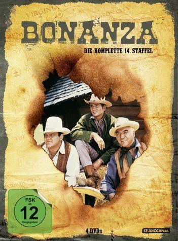 DVD »Bonanza - Die komplette 14. Staffel (7 Discs)«