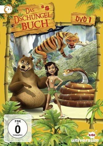 DVD »Das Dschungelbuch, DVD 01«