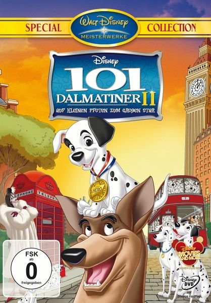 DVD »101 Dalmatiner II - Auf kleinen Pfoten zum...«