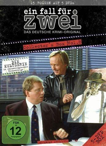 DVD »Ein Fall für Zwei - Collector's Box 8 (5 Discs)«