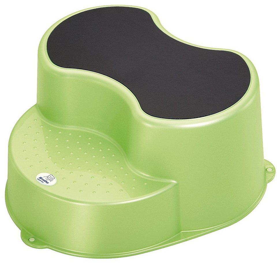 Rotho Babydesign Trittschemel Top, lindgrün perl in grün