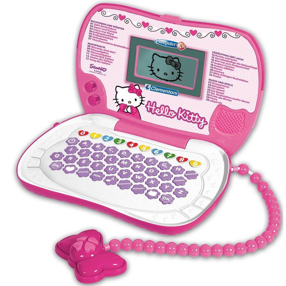 Clementoni Hello Kitty - Lernspiel-Computer Travel