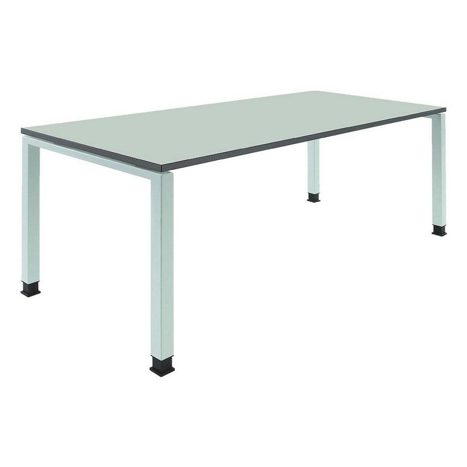 Mauser Schreibtisch »Kontoro« in lichtgrau