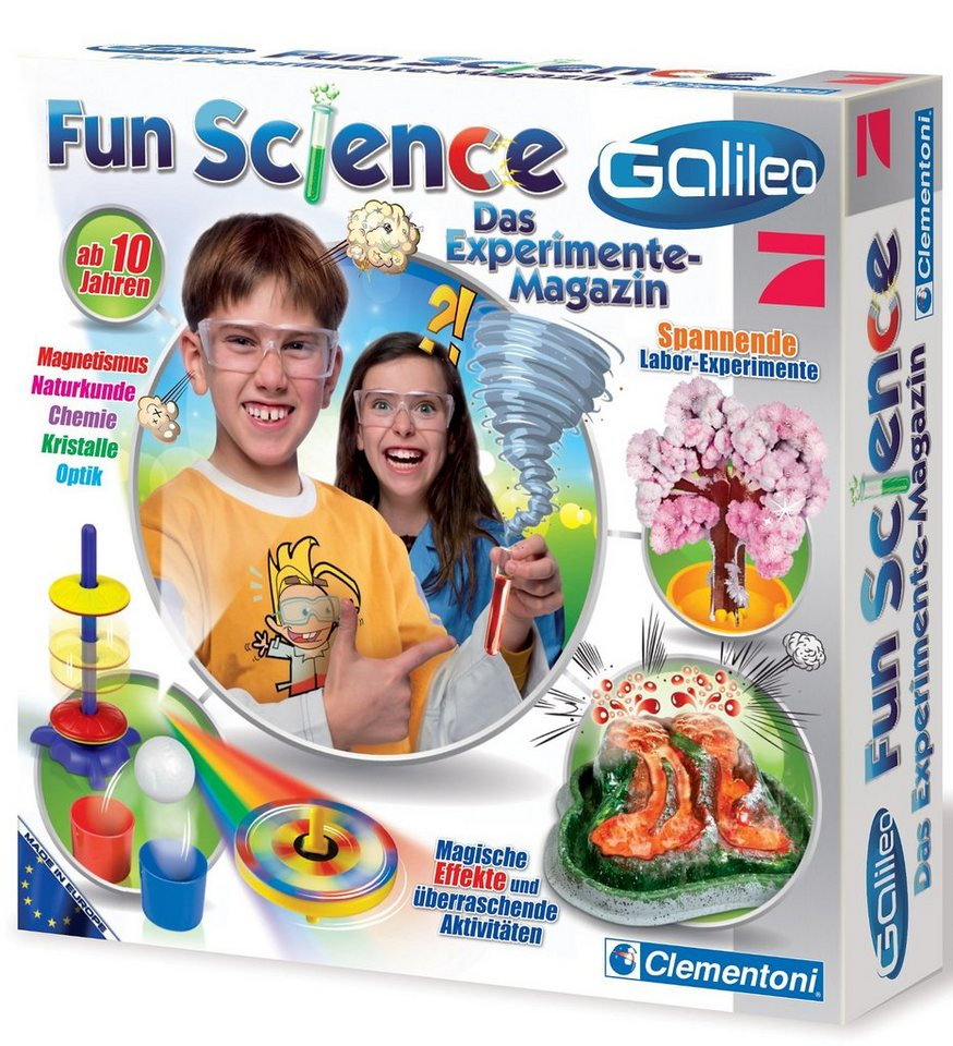 Clementoni Galileo - Science Fun - Das Experimente-Magazin