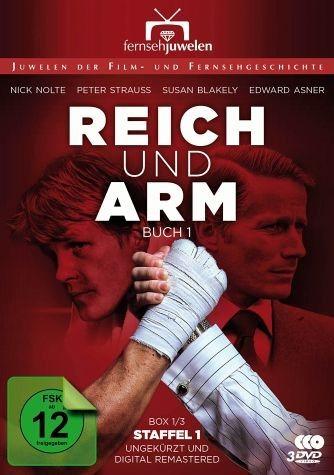 DVD »Reich und arm - Buch 1, Staffel 1 (3 Discs)«