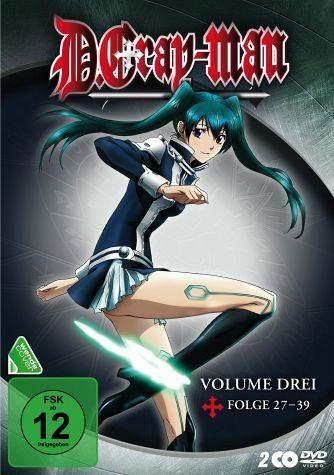 DVD »D. Gray-Man - Volume 3 (2 Discs)«