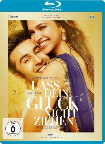 Blu-ray »Lass dein Glück nicht ziehen - Yeh Jawaani Hai...«