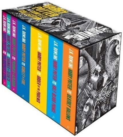 Broschiertes Buch »Harry Potter Complete Paperback Boxed Set«