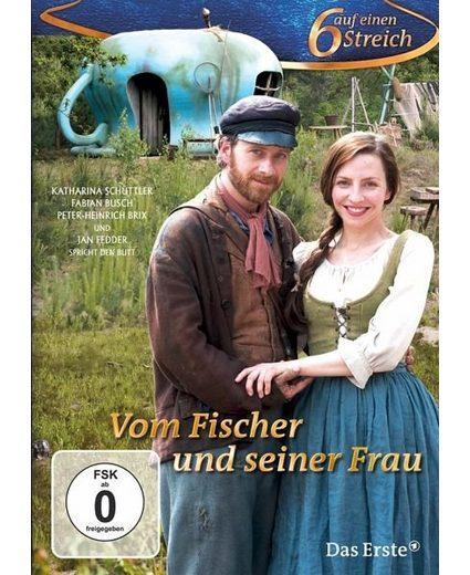 DVD »Sechs auf einen Streich - Vom Fischer und...«