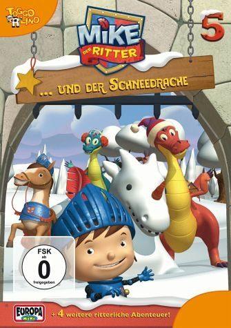 DVD »Mike, der Ritter... und der Schneedrache«