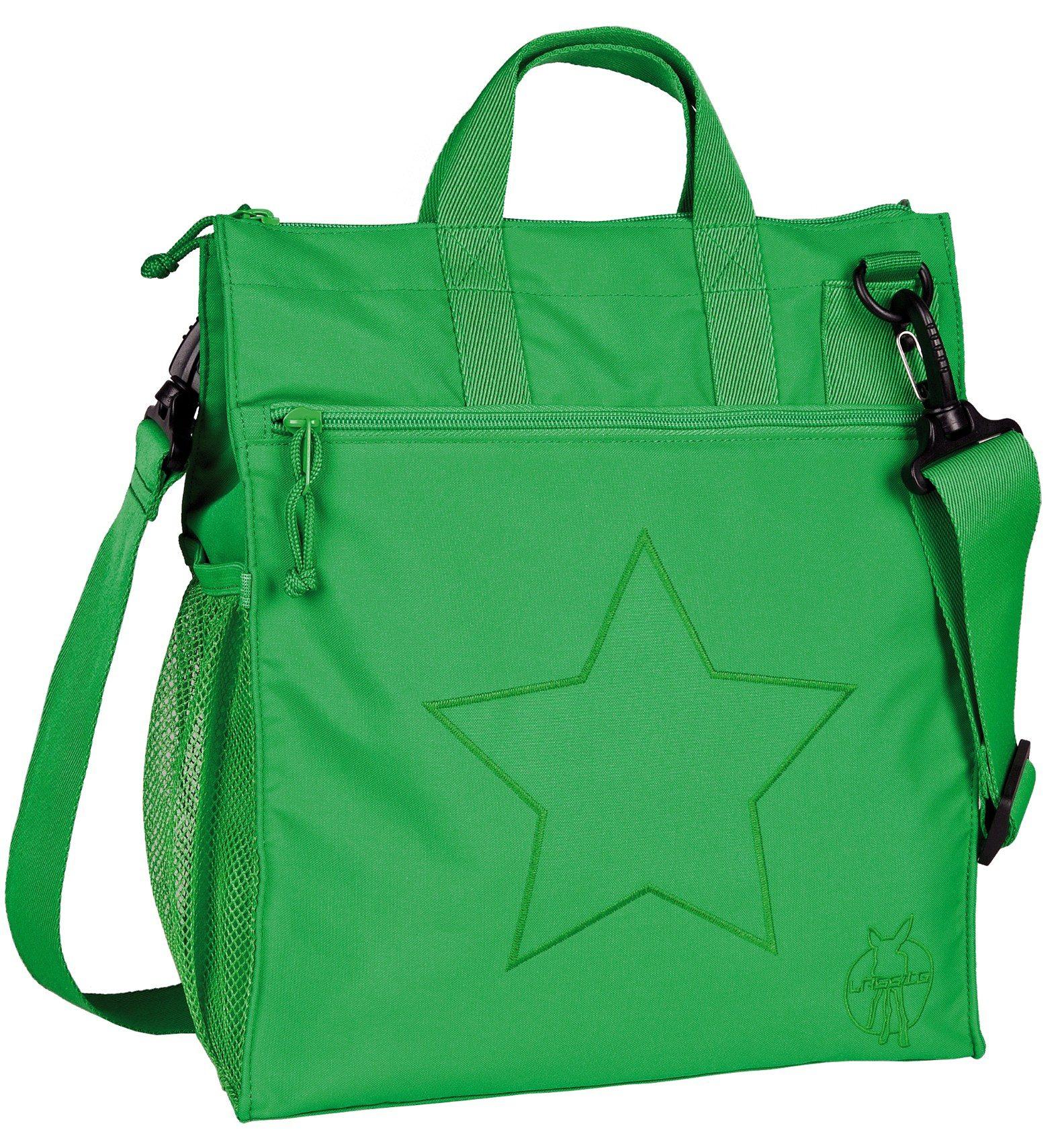 Lässig Wickeltasche Casual, Buggy Bag, Star deep green