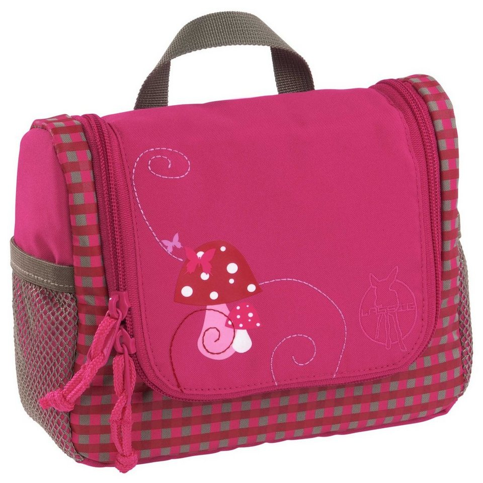 Lässig Kulturbeutel 4kids, Mini Washbag, Mushroom in pink