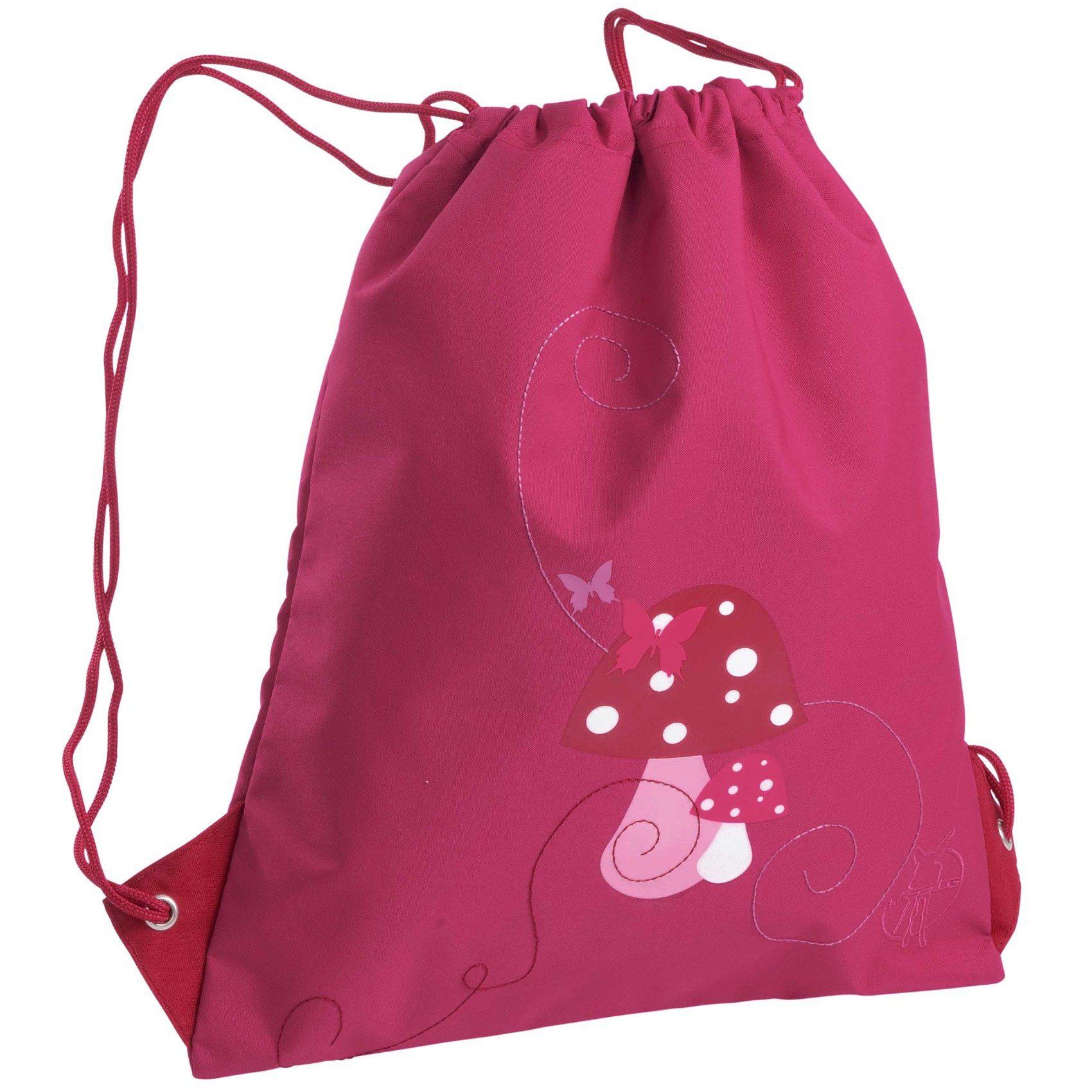 Lässig Sportbeutel 4kids, String Bag, Mushroom