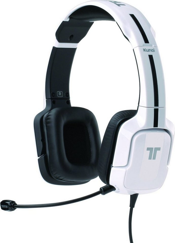 Mad Catz Headset Tritton Kunai Stereo Weiss »(PC Tablet/Smartphone)«