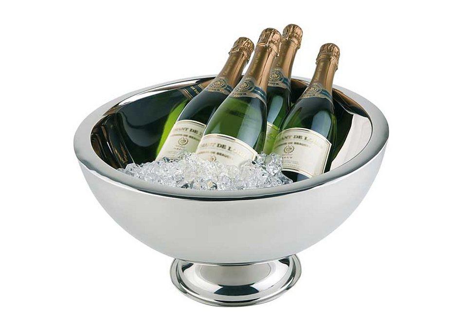 Champagnerschale, APS in silberfarben