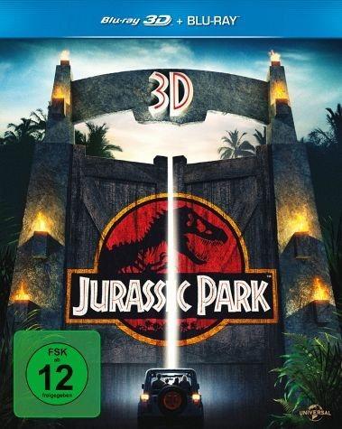 Blu-ray »Jurassic Park (Blu-ray 3D, + Blu-ray 2D)«