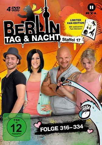 DVD »Berlin - Tag & Nacht - Staffel 17 (Folge...«