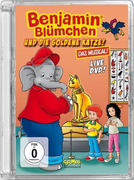 DVD »Benjamin Blümchen und die goldene Katze - Das...«