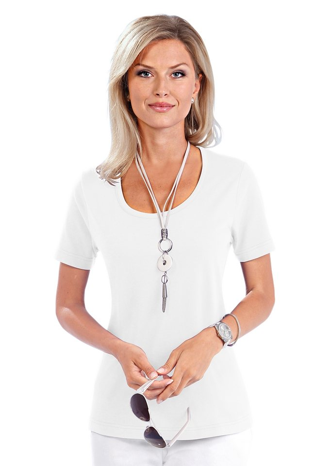 Damen Collection L. Shirt in PUREWEAR-Qualität weiß | 08698123174801