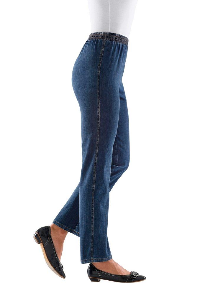 Classic Basics Jeans in weicher Stretch-Qualität in dark blue