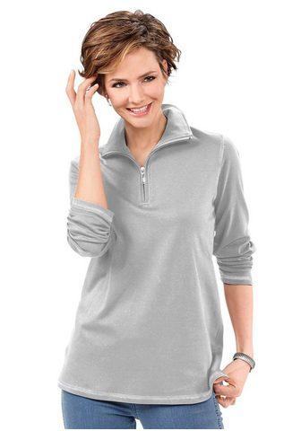 CLASSIC BASICS Sportinio stiliaus megztinis iš koregu...