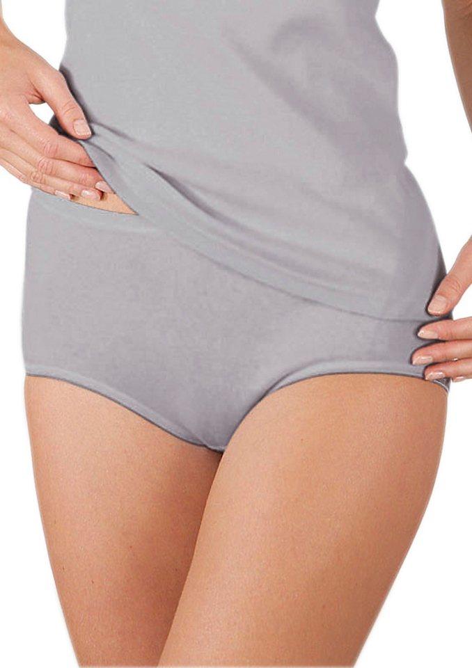 Taillen-Slip, Rosalie (2er Pack) in weiß + silberfarben