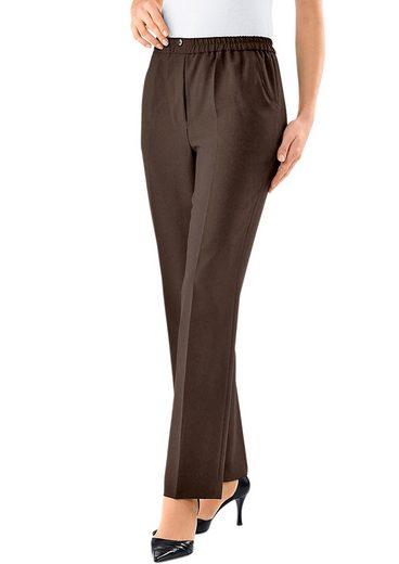Classic Basics Hose mit 2 Zierknöpfen am Bund