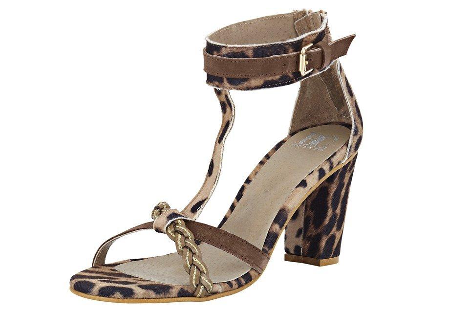 Sandalette in braun