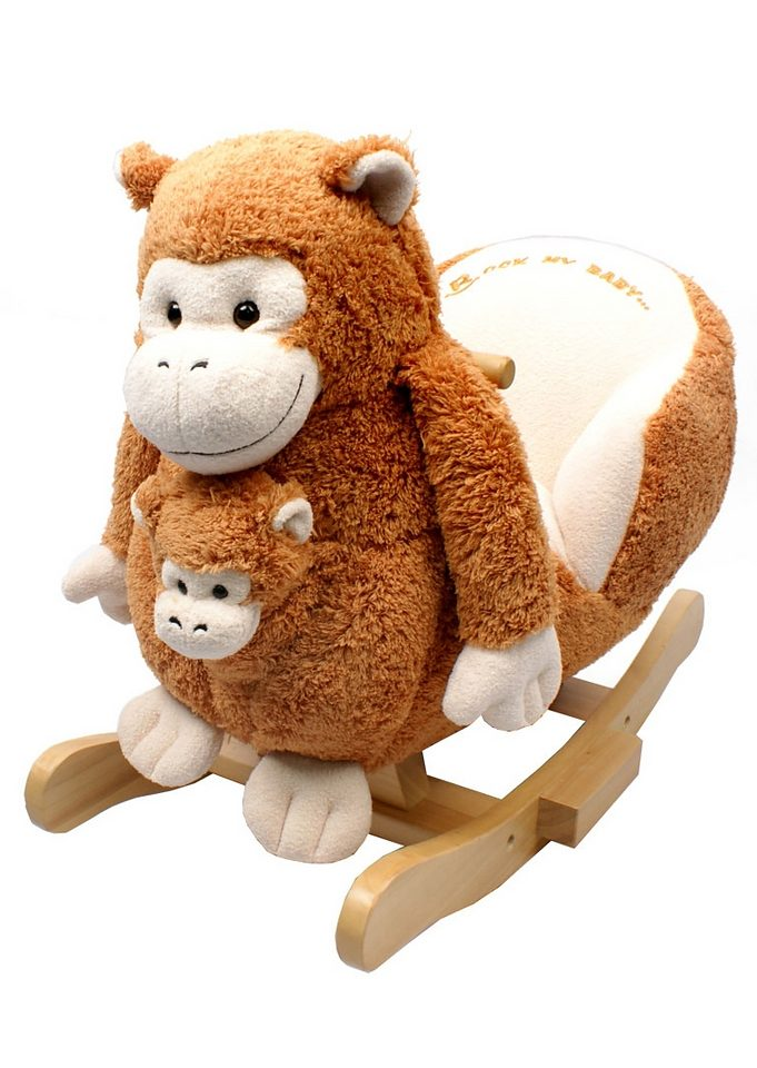 2 in 1 Schaukeltier, »Affe Bunga mit Baby«, Torro
