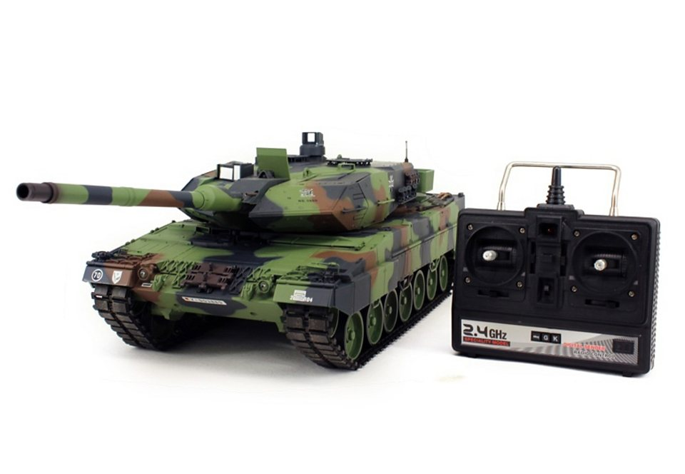 rc panzer set leopard 2a6 panzer 2 4 ghz torro. Black Bedroom Furniture Sets. Home Design Ideas