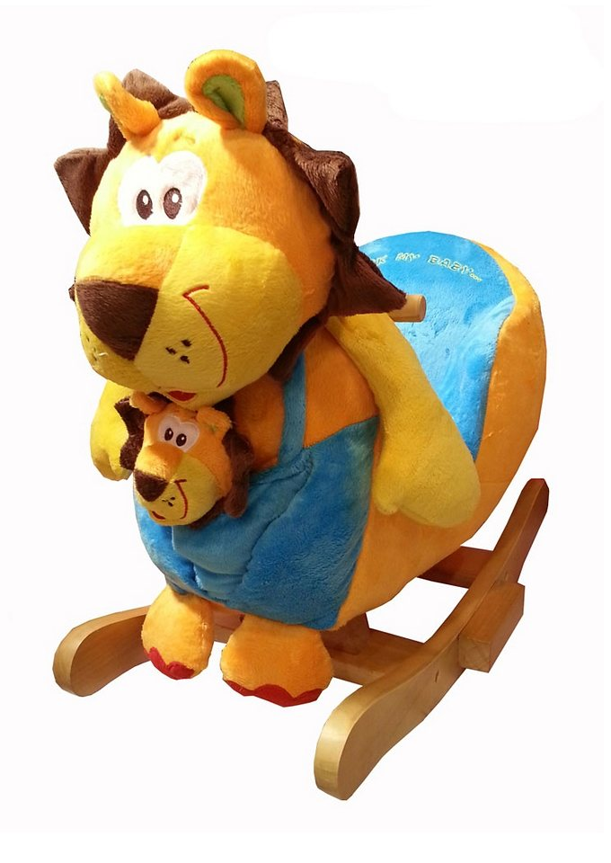 2 in 1 schaukeltier »löwe superkimba mit baby« torro