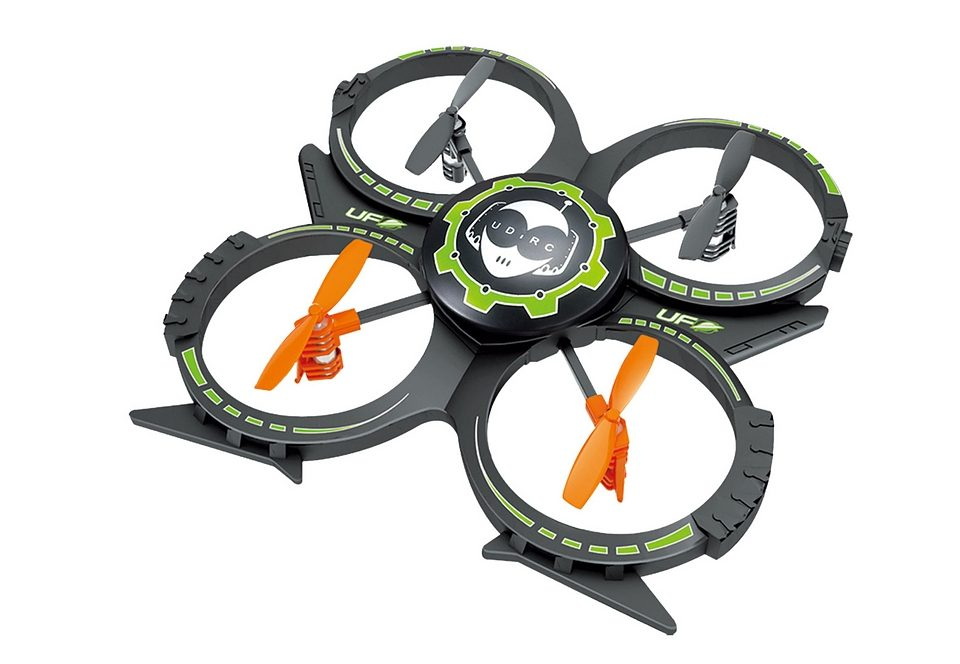 RC-Helikopter-Set, »Quadcopter UFO U816A mit Schutzring«, Torro