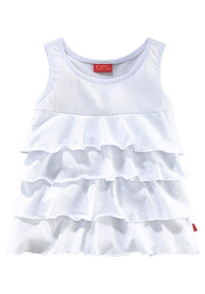 CFL Top, für Mädchen in weiß