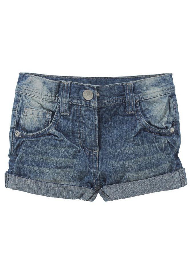 CFL Jeansshorts 5-Pocket-Form in blue-used