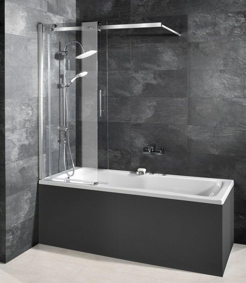 badewannenaufsatz 2 tlg online kaufen otto. Black Bedroom Furniture Sets. Home Design Ideas