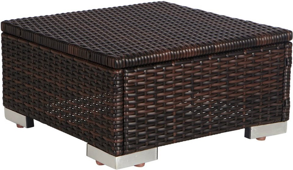 merxx hocker polyrattan braun online kaufen otto. Black Bedroom Furniture Sets. Home Design Ideas