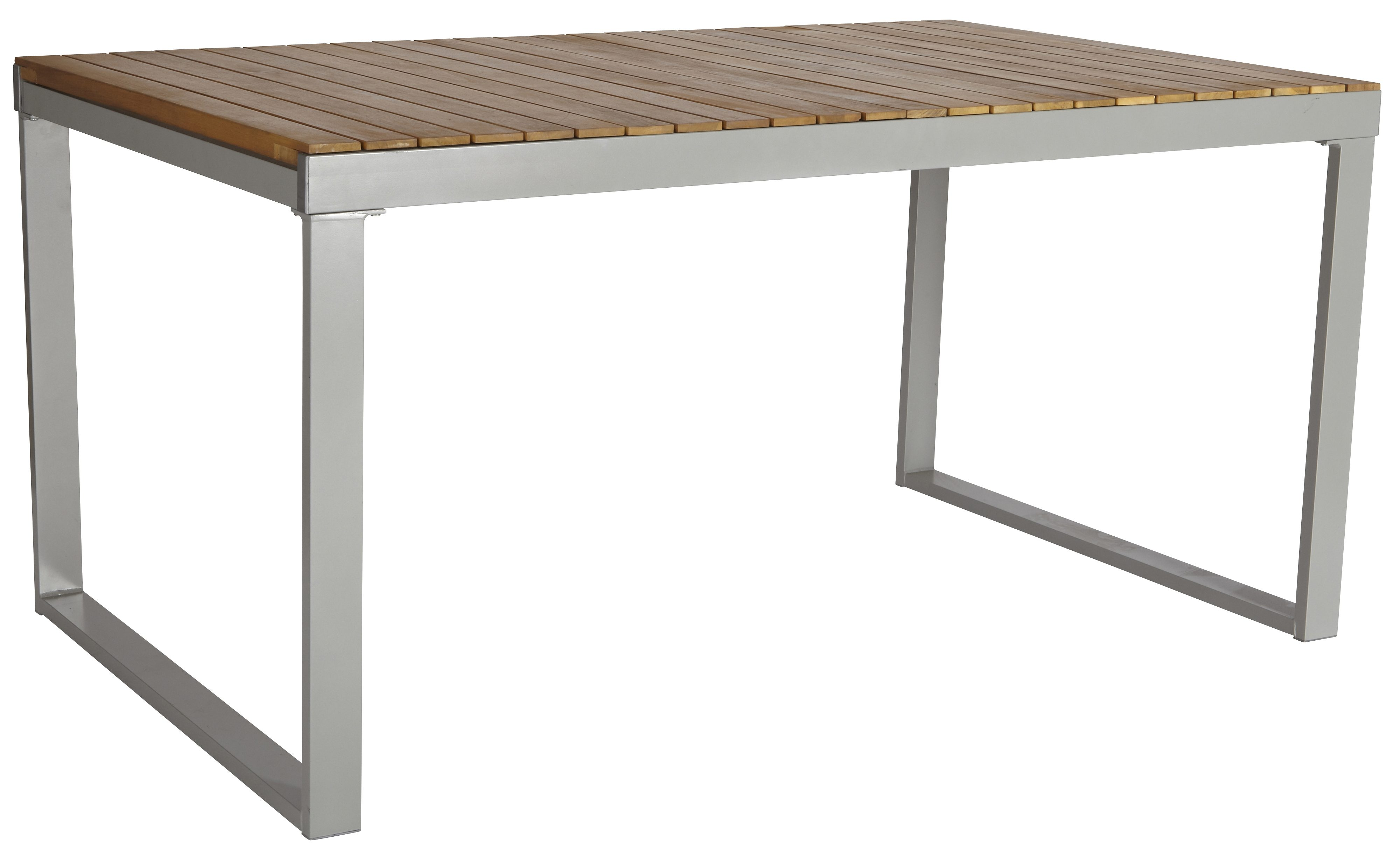 Gartentisch »Monaco«, ausziehbar, Alu/Akazienholz, 150-200x90 cm