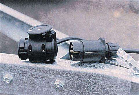 Adapter für Anhängerkupplung »Adapterstück 13/7«
