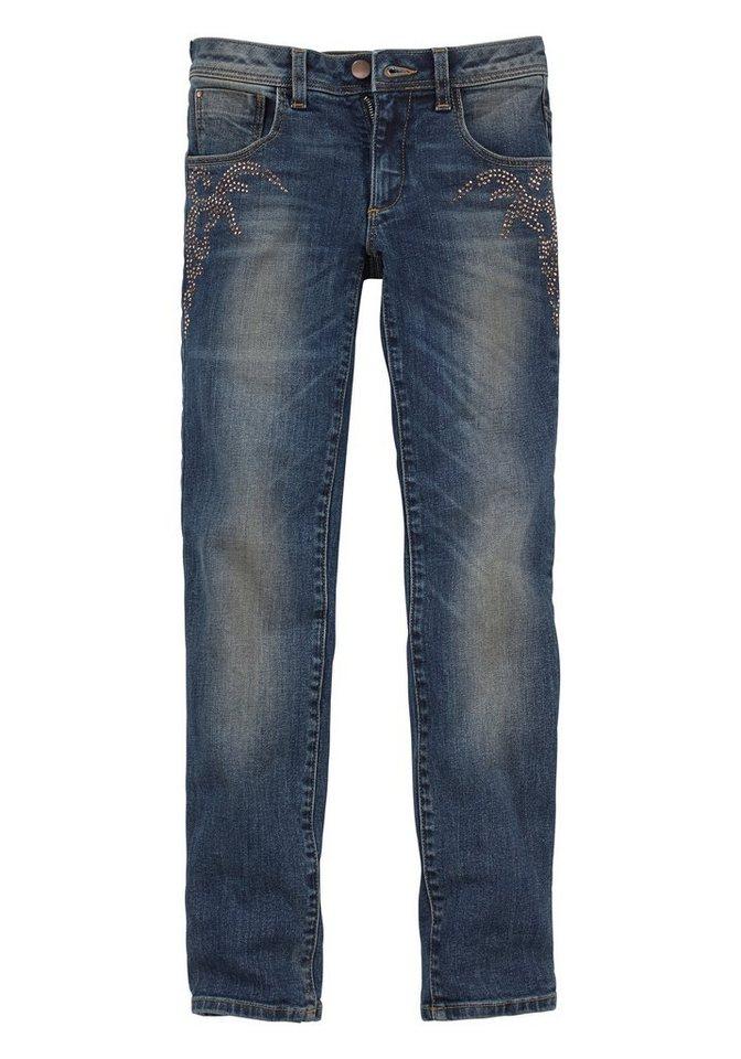 Buffalo Skinny-fit-Jeans in blue-denim