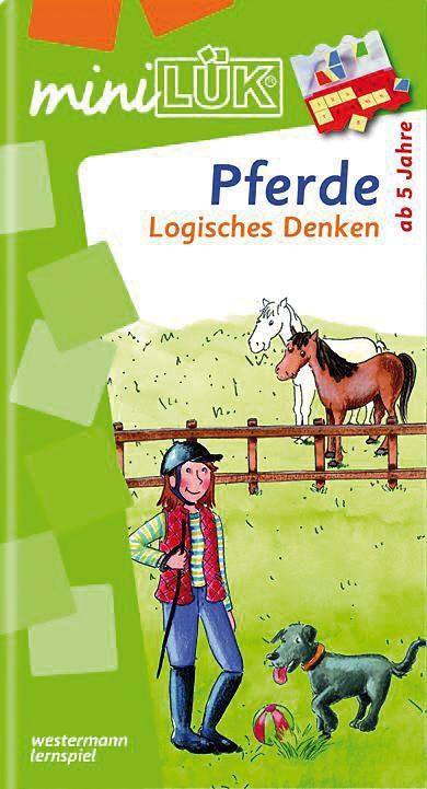 LÜK mini, Übungshefte: Pferde, Logisches Denken